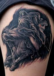 death on a pale horse tattoo by jamiemhenderson on deviantart