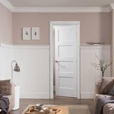jeld wen interior doors home depot jeld wen shaker white primed panelled panel door panel