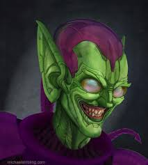 green goblin by strib on deviantart