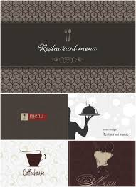 restaurant menu designs vector vector graphics blog
