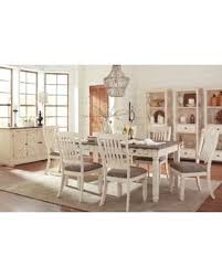 two tone dining table set find the best deals on signature design by ashley bolanburg two tone