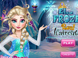 real haircuts games unblocked play elsa frozen real haircuts games elsa frozen real and elsa