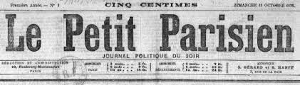 siege le parisien le petit parisien le petit parisien 1876 1944 issn 0999 2707