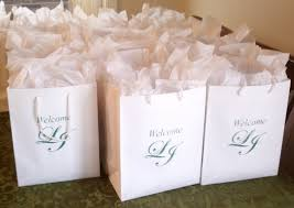 hotel gift bags for wedding guests wedding hotel gift bag ideas wedding ideas weddings