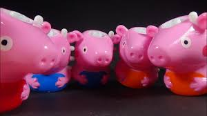 peppa pig spinning tops with lights colorful and cool