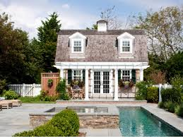 architect patrick ahearn u0027s cottage garden hgtv pool houses and
