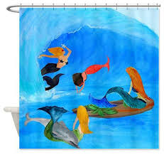 Surfer Shower Curtain Bath Bathroom Accessories Shower Accessories Shower Curtains