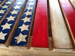 Pallet American Flag American Flag Pallet Made Actually