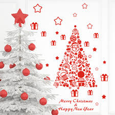 christmas decoration stickers decoration image idea