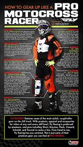 pro motocross racer how to gear up like a pro motocross racer visual ly