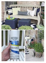 painting outdoor furniture and accessories patios porch and