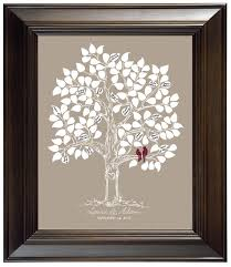 wedding keepsake gifts custom wedding guest book gift wedding guestbook alternative tree