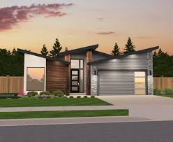 mandy mandy has a delightful butterfly gable roof founded on a simple easy to build low pitched gable roof design stained hardwood siding accents and entry