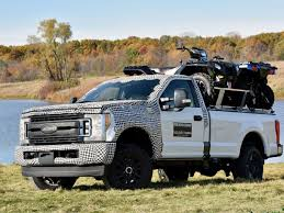 ford duty truck accessories ford tests strength of 2017 duty aluminum bed with accessories