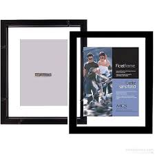 photo albums for 8x10 pictures the original float u and u sided 11x14 8x10 black stain