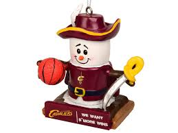 cleveland cavaliers thematic smore ornament lids