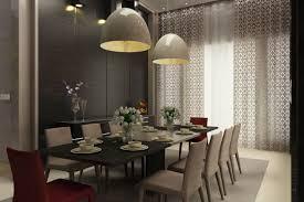 contemporary pendant lighting for dining room bowldert com