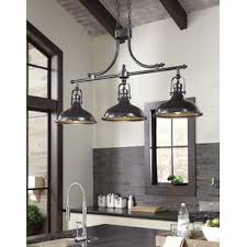 kitchen island with pendant lights kitchen island lighting you ll wayfair