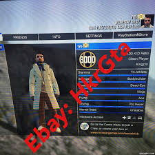 selling ps4 ps4 rare gta v 5 modded account 359 bill rank 2888