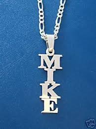 vertical name necklace name necklace personalized name pendant nameplate carrie name
