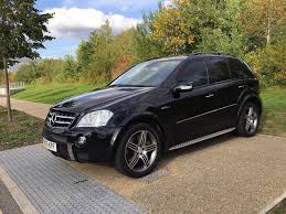 2007 mercedes ml 63 amg 4 matic 6 3 aut black immaculate leather