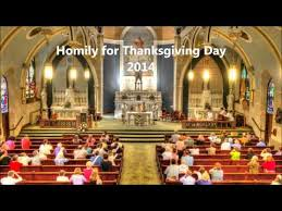 thanksgiving day homily divascuisine