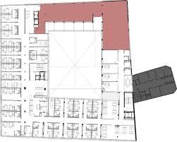 hospital interior design floor plan and layout psychiatry unit