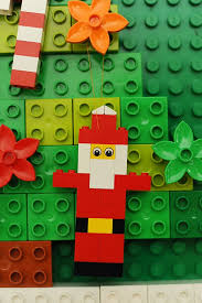 rust 12 days of day 10 lego ornaments