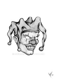 image result for scary clown drawing how to draw clowns