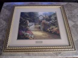 thomas kinkade home interiors thomas kinkade hidden cottage print library edition picture home