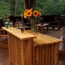 Build Outdoor Bar Table by Diy Outdoor Patio Furniture Home Design Ideas