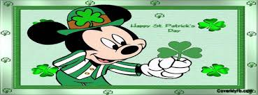 mickey mouse s day st patricks day cover photos for st patricks day