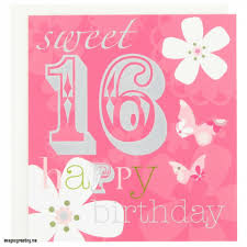 unique birthday card free sweet sixteen birthday card sayings