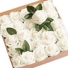 wedding flowers roses s moment artificial flowers ivory roses 50pcs