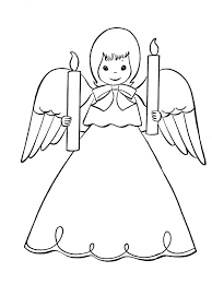 angel printable coloring pages coloring
