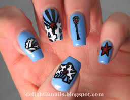 delight in nails hepicksmypolish lacrosse nail art with polish
