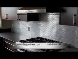 Stainless Steel Tiles For Kitchen Backsplash Kitchen Tile Kitchen Ideas Kitchen Design Kitchen Backsplashes