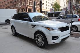 land rover supercharged white 2014 land rover range rover sport supercharged stock gc1414 for