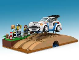 mitsubishi lego lego ideas peugeot 205 turbo 16 lego speed champions