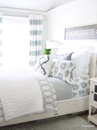 Navy Blue Bedroom by Home By Heidi Navy Blue Bedroom Makeover