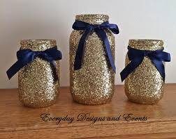 black gold mason jar decor baby shower ideas baby shower