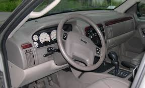 Jeep Cherokee Sport Interior File Jeep Grand Cherokee Wj Interior Jpg Wikimedia Commons