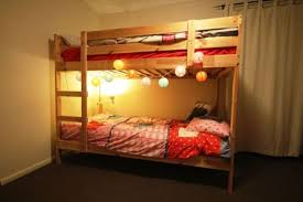Bunk Bed Ikea Tromso Walker Edison Sunset Twin Over Twin Metal - Ikea mydal bunk bed