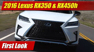 lexus rx 350 review uae 2016 lexus rx350 u0026 rx450h first look youtube