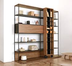 endearing open bookcase room divider bookcase divider with curtain