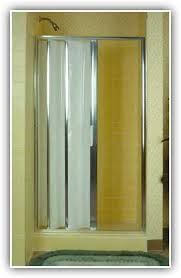 folding shower doors