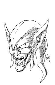 images green goblin drawing