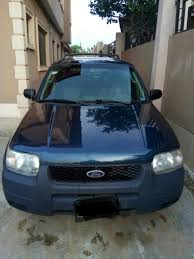 Ford Escape Jeep - ford escape 2004 jeep 1 2m very clean and cheap autos nigeria