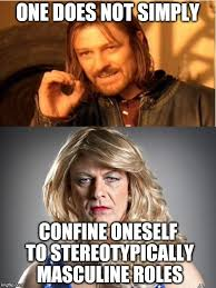 Transvestite Meme - yes it is the same guy sean bean as boromir and tracie the