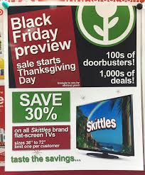 obvious plant leaves black friday ads at local target store